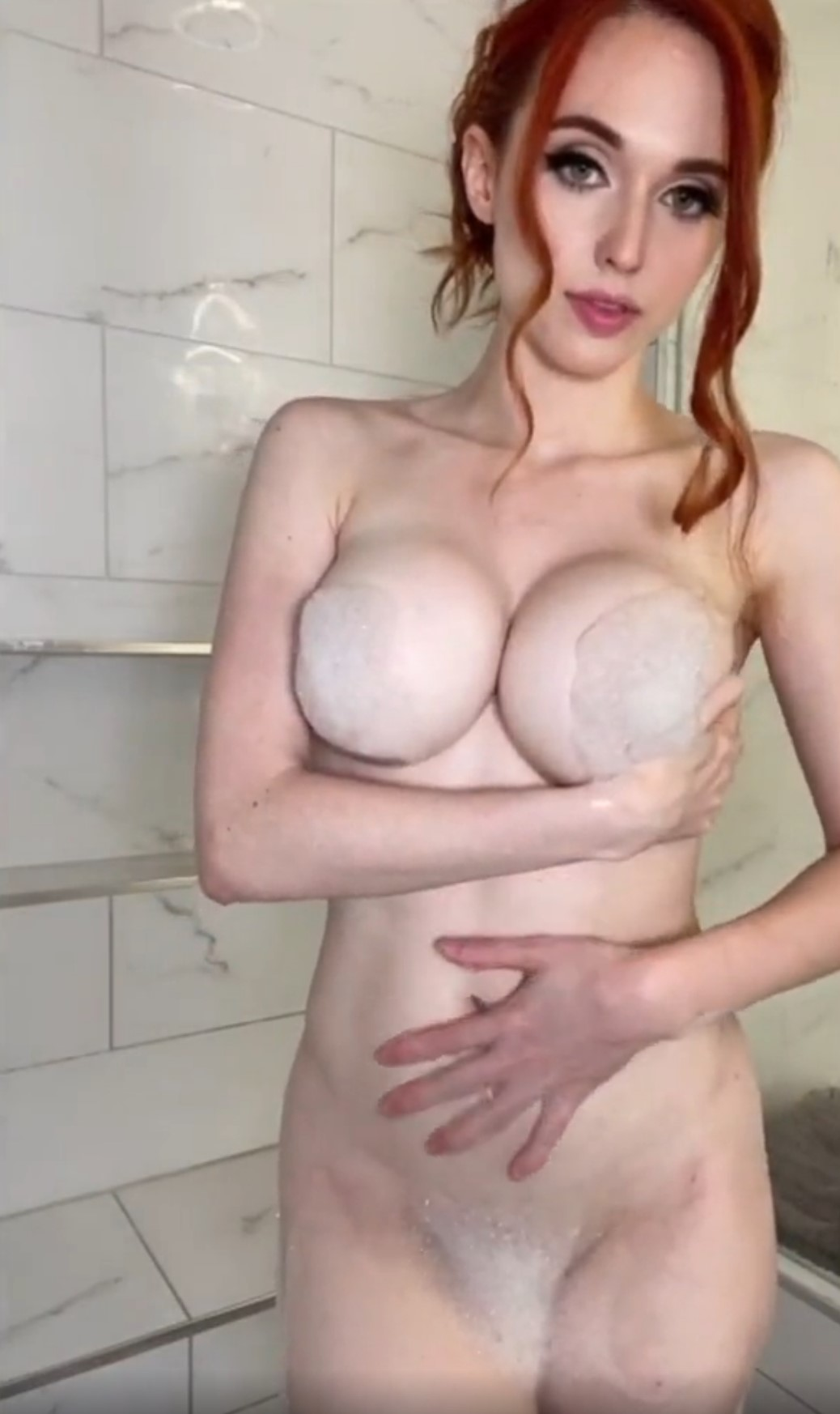 Amouranth Nude Shower Tease Video Leaked Onlyfans Leaks