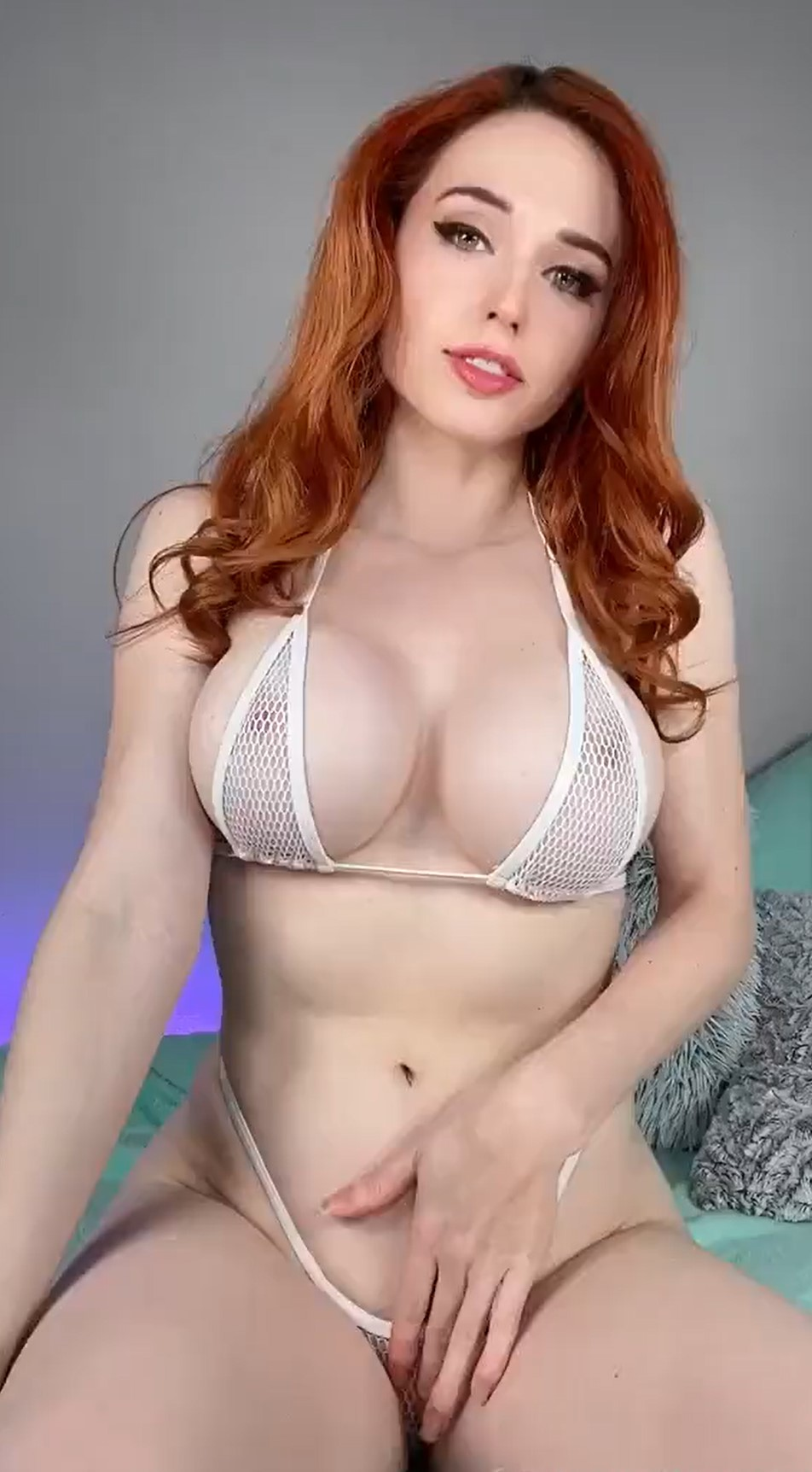 Amouranth Cum On My Boobs Video Leaked