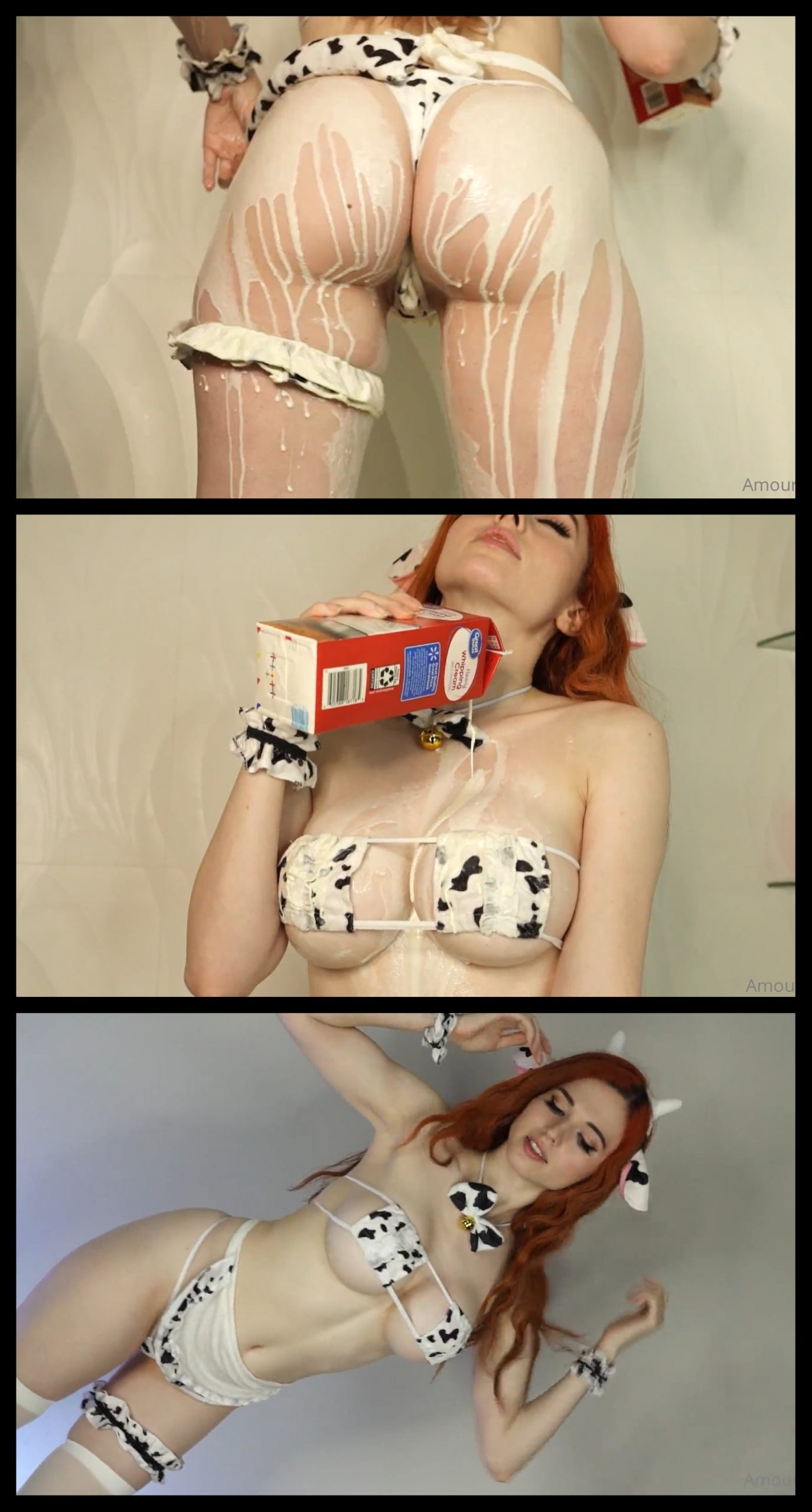 Amouranth Milk Play Video Leaked Onlyfans (10 min)